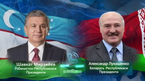 Presidents of Uzbekistan and Belarus talk over the phone