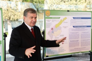 Shavkat Mirziyoyev got acquainted with conditions created for military personnel
