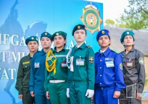 "Tashkent regional stage of ""Young border guards – 2018"" contest"