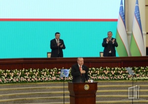 The President of Turkey addressed the parliament of Uzbekistan